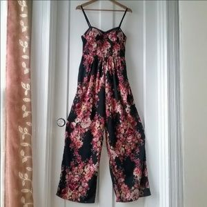 Band of gypsies floral jumpsuit